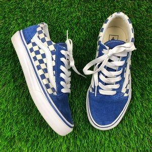Old Skool 'Blue Checkerboard' (PS)